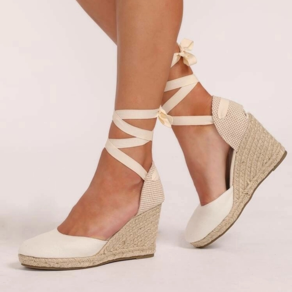 GAP Tie Up Espadrilles